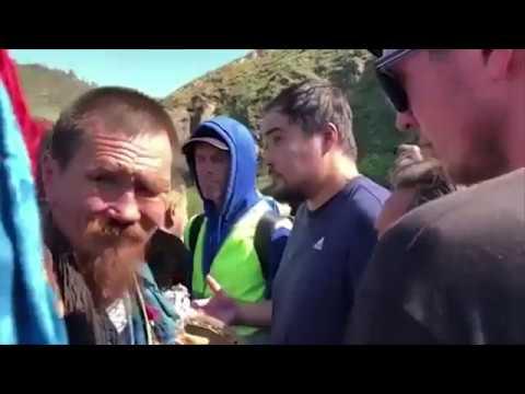Бурятские шаманы преградили путь Шаману Саше из Якутии (видео)