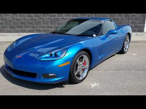 2008 CHEVROLET CORVETTE COUPE \ HEADERS \ CAMMED \ EXHAUST