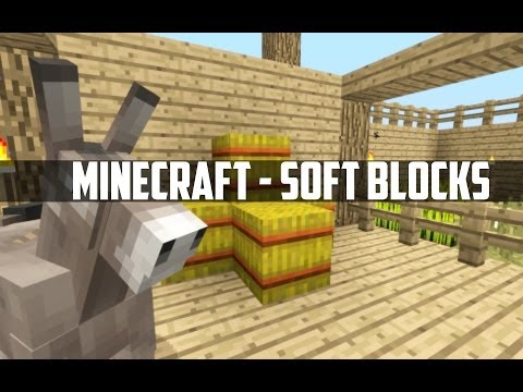 Minecraft - Soft Blocks!