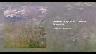 Piano Sonata no. 25 in G, Op. 79