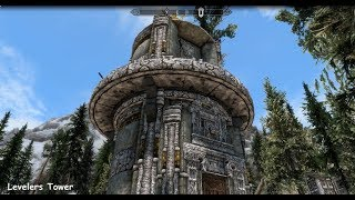 Levelers Tower - Skyrim Special Edition House Mod