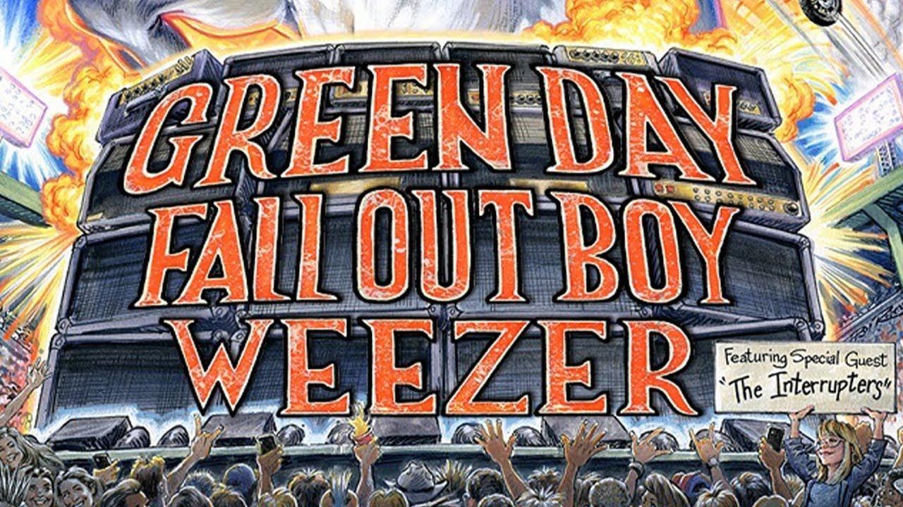 The Hella Mega Tour: Green Day/Fallout Boy/Weezer