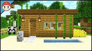 Minecraft: 1.14 Starter House For Beginners! - Minecraft Tutorial (Easy)