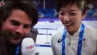 オランダ語でインタビューに答える素晴らしい小平選手!Bravo~NaoKodaira!
