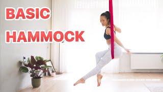 Aerial Hammock Basic - 10 Beginner Tricks | Aerial Practice