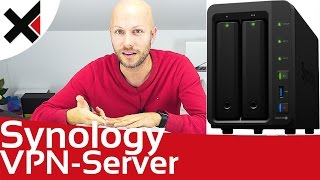 Synology DiskStation VPN (L2TP/IPsec) Server einrichten Windows 10 macOS Tutorial Deutsch | iDomiX