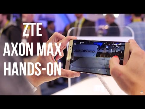 ZTE Axon Max hands-on