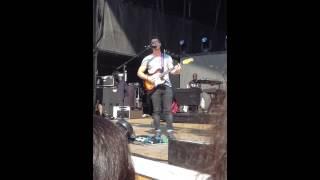 Nick Jonas singing Crazy Kinda Crush on You @ Soundcheck 7/20/13