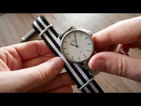 OSCO Germany Zeittechnik Titan Damen Quarz Armbanduhr | Uhr Clock Watch Gear | Flohmarktfund