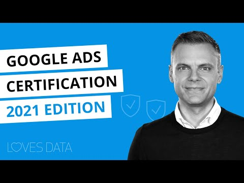 Google Ads Certification // 2021 Edition - YouTube