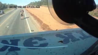 РЕДКОЕ ВИДЕО! Авария на шоссе! Смотреть всем!