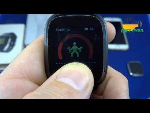 Smartwatch Bakeey M30, une petite smartwatch simple avec un joli écran LCD couleur pour pas cher