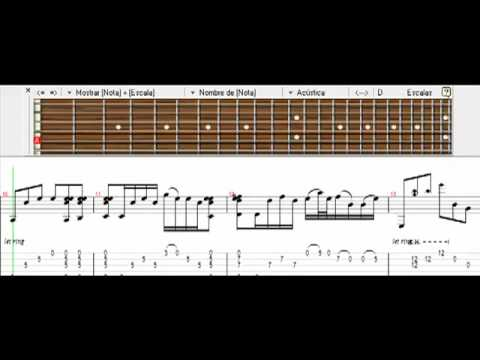 Nothing Else Matters(intro) - Metallica - Guitar pro tab 52 \u003d) on