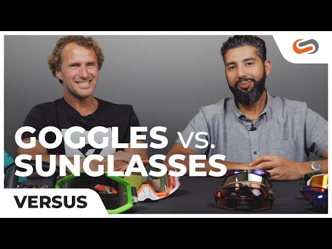 "MTB Sunglasses VS MTB Goggles with Richie Schley ""THE SCHLEYER"""