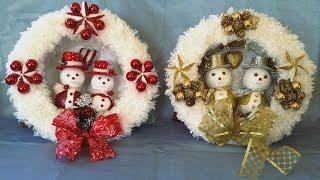 Fantastic Christmas Wreath ...easy to make | Kholo.pk