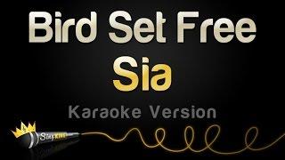 Sia   Bird Set Free (Karaoke Version)