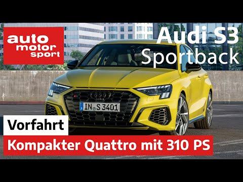 Audi S3 Sportback (2020): Wie groß ist der Unterschied zum A3? – Vorfahrt/Review |auto motor & sport