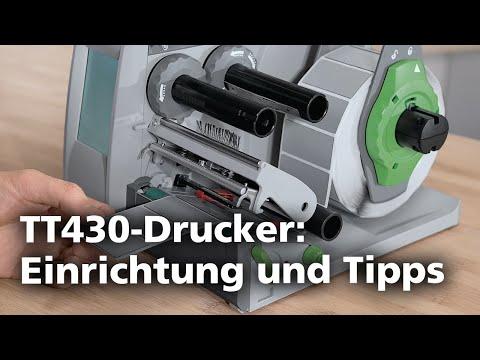 Thermotransferdrucker TT430: Produktvorstellung (DE)