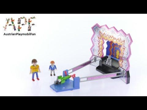 Vidéo PLAYMOBIL Summer Fun 5547 : Stand de Chamboule-tout
