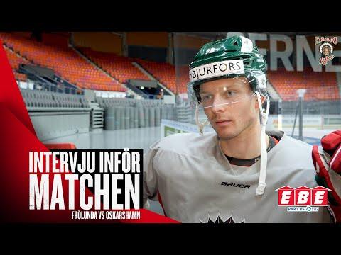 Youtube: Christoffer Ehn om uppstarten i Frölunda: så anpassar han sig