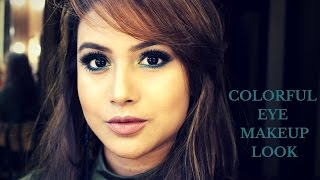 Image for video on Colourful eye makeup look by Makeup And Fashion Diaries