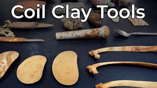 CLAY TOOLS For Coil Pottery Making - Whats In My Basket