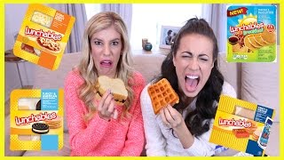 Tasting Gross Lunchables (w/ Colleen Ballinger Evans and Rebecca Zamolo)