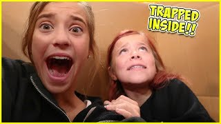 OUR PARENTS MAILED US TO ANOTHER STATE!! 6 HOURS IN A BOX!!