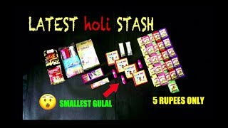 HOLI STASH REVIEW-CRACKERS,BALLOONS,COLOURS😍🔥