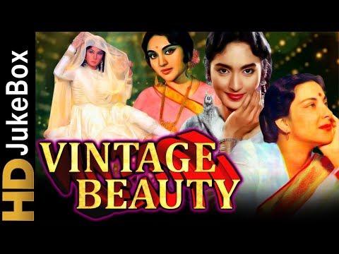 Vintage Beauty | Vyjayanthimala, Nutan, Meena Kumari, Nargis Superhit Songs | पुराने हिंदी गाने