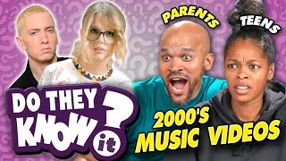 Do Teens and Their Parents Know 2000s Music Videos?