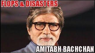 Amitabh Bachchan Flop Films List : Biggest Bollywood Flops & Disasters 🎥 🎬