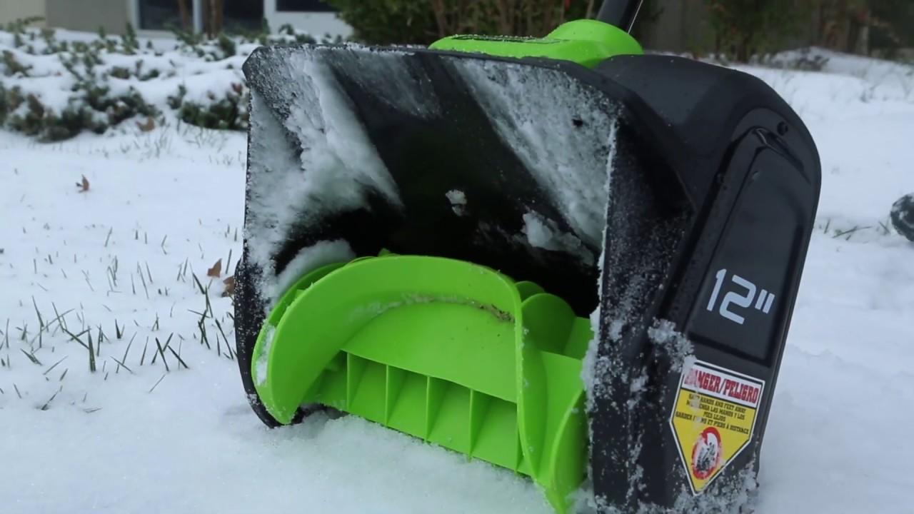Pelle à neige sans balai 80 V, 12 po (outil seulement)