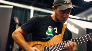 Dean Murphy   Frozen Waterfall live at NAMM 2016 Kalium Strings Booth