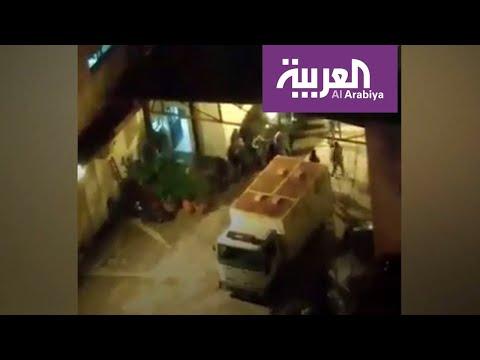 العرب اليوم - شاهد: فيديو مسرب لضرب موقوفين في شاحنة يشعل لبنان
