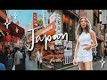 I Went to Japan for the First Time Tokyo Travel Vlog