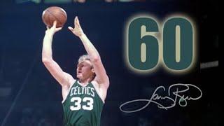 1985-03-12 Celtics 125 / Hawks 115 - Larry 60 points
