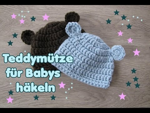Bärchen Mütze Babymütze In Zwei Größen Auch Schriftl Carolines