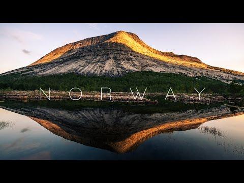 נופיה המדהימים של נורווגיה באיכות 8K