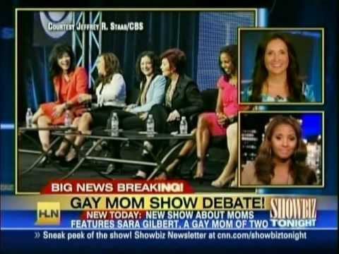 Sara Gilbert - Gay Mom Show Debate!