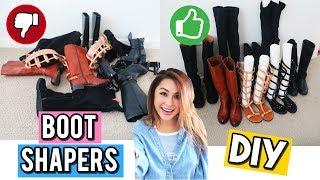 Mình Đã Sắp Xếp & Giữ Form Giày Boots Như Thế Nào?! • DIY BOOT SHAPERS