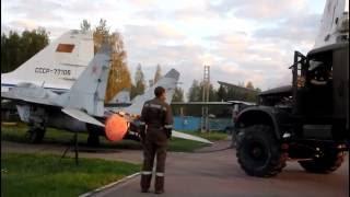 Перекатка Миг-29. Субботник 24.09.2016 (Музей ВВС в Монино)