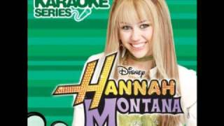 Hannah Montana - If We Were A Movie [Instrumental/Karaoke]