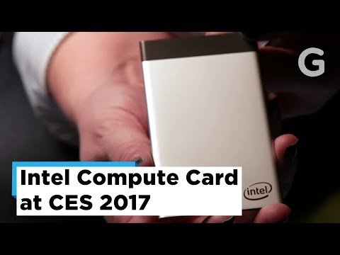 Intel's Incredibly Tiny Compute Card Could Make Obsolete Dumb Gadgets Upgradable