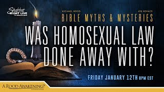Was Old Testament Homosexual Law Done Away With?