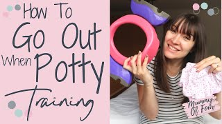 POTTY TRAINING ESSENTIALS FOR LEAVING THE HOUSE | HOW TO USE POTETTE PLUS | TOILET TRAINING BAG TIPS
