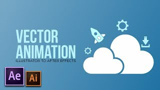 Vector Animation 101 | After Effects To Illustrator Motion Graphics Tutorial