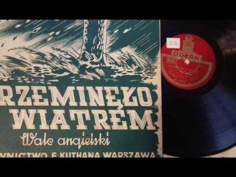 PRZEMINĘŁO Z WIATREM- ZYGMUNT ŁUCZAK 1946!