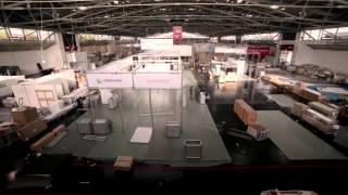 preview picture of video 'electronica 2012 - set up time lapse'