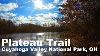 Highlights of a hike on the Plateau Trail in the fall.